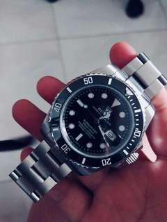 Rolex Black Submariner 16800