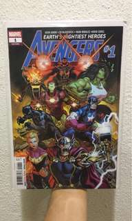 Marvel Avengers #1 2018