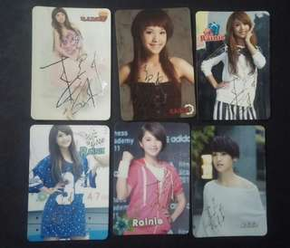 [Postage Free] 楊丞琳 rainie yescards