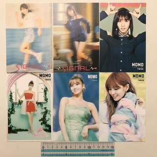 Twice Momo 韓製 Made In Korea Post Card 明信片 Sticker 貼紙