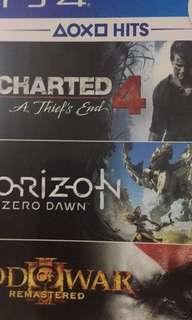 Ps4 uncharted 4 & lost horizon
