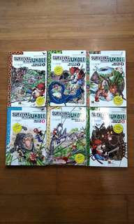 Survival in the jungle book 1-6 comics children book