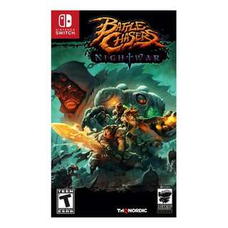 Switch Battle Chasers: Nightwar