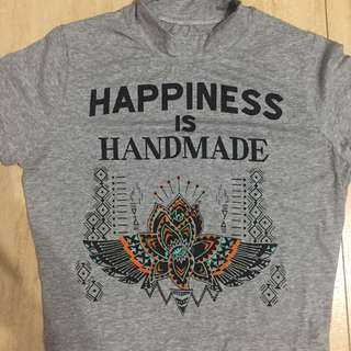 Cropped top (Happiness is handmade)