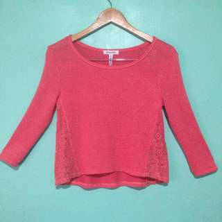 Pink Knitted Top by Aeropostale