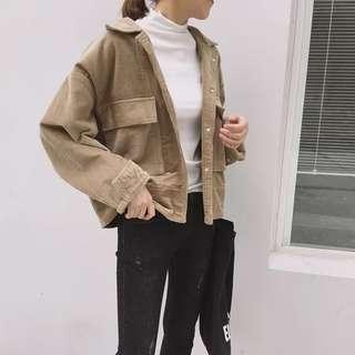 Velvet Vintage Oversized Jacket