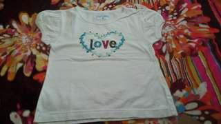 Big & small shirt