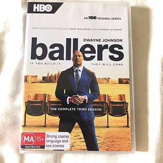 Ballers: The Complete Third Season (DVD)