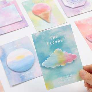 Ombré Pastel Post It / Sticky Note