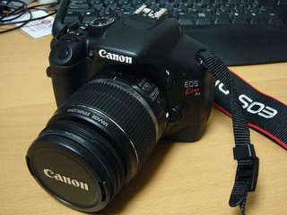 Canon EOS 550D kiss x4 kit with 18-55mm lens