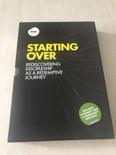 (8 DVDs) IDMC Starting Over - Rediscovering Discipleship As A Redemptive Journey