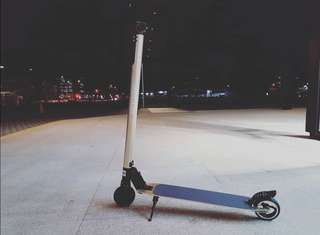 New e-scooter