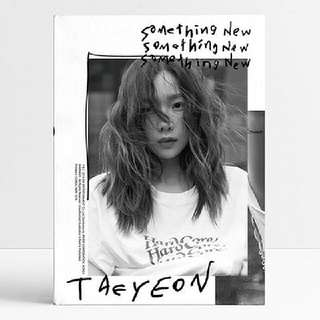 Preorder]  Taeyeon - 3rd Mini Album [Something New]