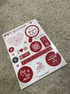 Carousell Stickers