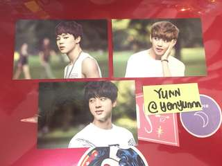 BTS 2ND MUSTER PC JIMIN V JIN