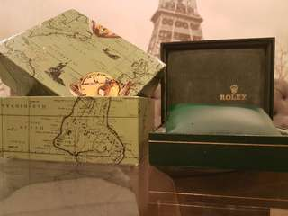 Rolex Box vintage original authentic circa 1970s