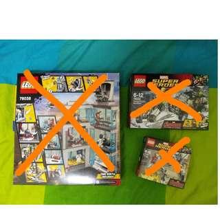 Lego - Marvel Super Heros
