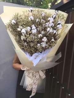 Huge bouquets