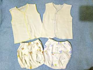 Preloved 2 Set Baby Newborn