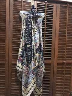 Mango Silk Dress