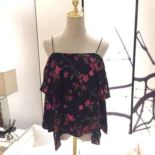 NWT Alice + Olivia Floral Top