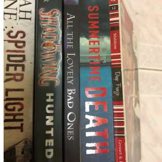 SALE English novels!!!