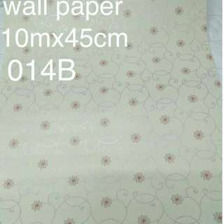 Floral Flowers Wallpaper Self Adhesive C014B