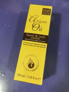 Argan oil hand & nail cream