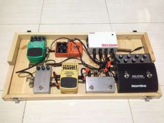 CUSTOM MADE PEDALBOARD (effects case)