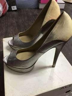 Aldo Brand New Silver Stilettoes