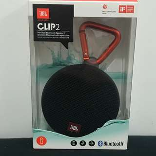 JBL Cilp 2 Portable Bluetooth Speaker