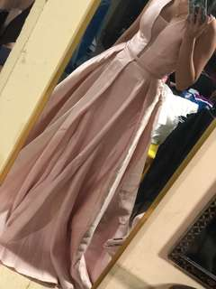 Pink Champagne Ball Gown