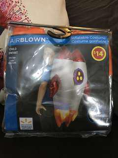 Airblown inflatable costume