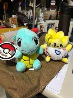 Pokemon plushie keychain
