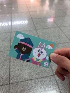 LINE ezlink card (for Korea Seoul transport)