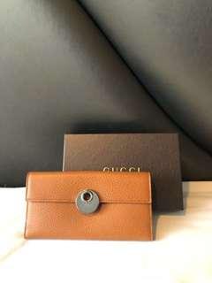 BNIB Gucci long wallet full leather complete no rec