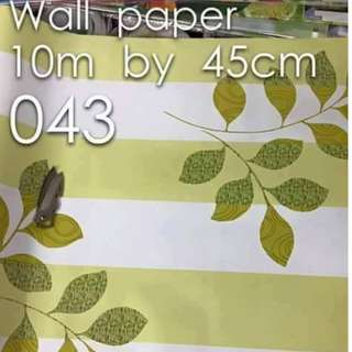 Floral Flowers Wallpaper Self Adhesive C043