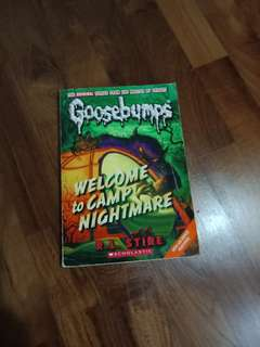 Goosebumps Welcome To camp nightmare