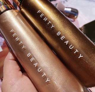 Fenty Beauty Body Lava highlighter limited edition