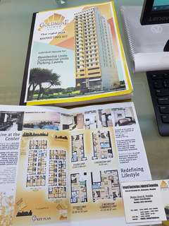 Affordable GOLDMINE TOWER Condo Malate (near De La Salle University Taft)