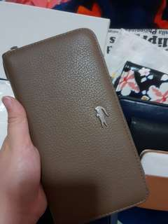 Lacoste wallet cow leather