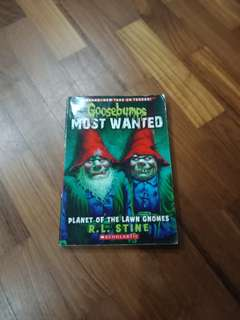 Goosebumps Most Wanted Planet of the Lawn Gnomes