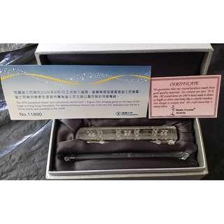 地鐵迪士尼線 水晶紀念列車 (附原裝盒)