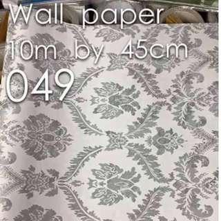 Floral Flowers Wallpaper Self Adhesive C049