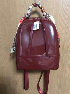 SALE! Brand New Red Jelly Waterproof Backpack