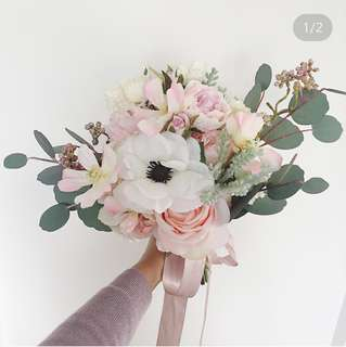 歐式新娘絲花花球 ig shop lovefaa