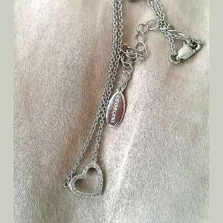 Georgini Sterling Silver Heart Necklace