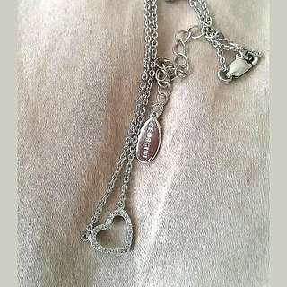 Georgini Sterling Silver Heart Necklace
