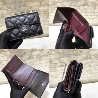 Chanel Classic Mini Wallet- Black
