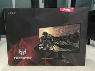 Acer Predator XB271HU WQHD IPS 144Hz G-Sync